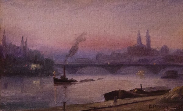 the thames on battersea